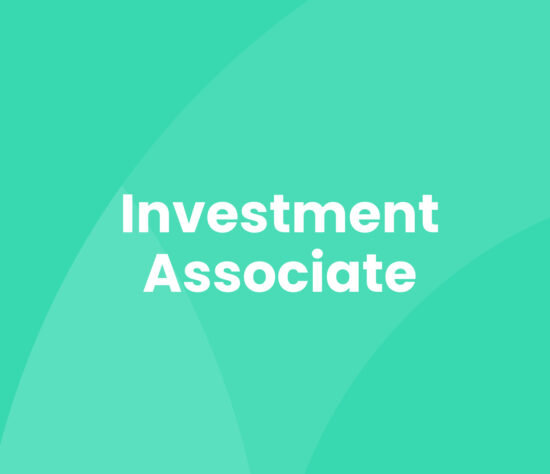 Investment Associate Career Opportunity Cover
